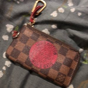 Authentic Louis Vuitton trunks and bags damier cle